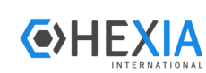 logo hexia international